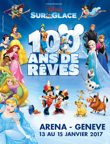 disney sur glace 100 ans de r ves spectacle gen ve. Black Bedroom Furniture Sets. Home Design Ideas