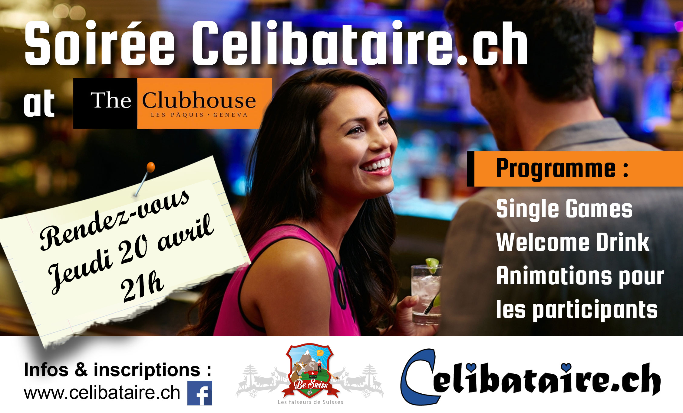Soiree Speed ​​Dating lausanne