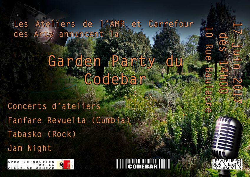 Garden Party Du Codebar Concert Gen Ve