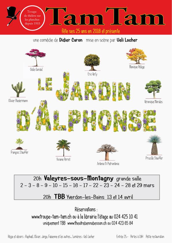 Le jardin d 39 alphonse spectacle valeyres sous montagny for Le jardin d alphonse