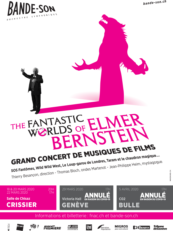 Bernstein Salle De Bain reporté // the fantastic worlds of elmer bernstein