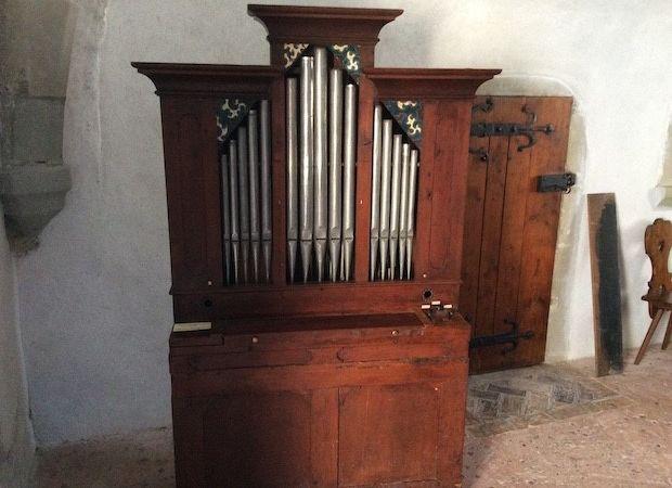 Orgues Walpen 1800 de la chapelle