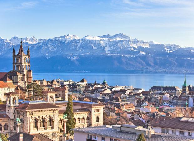 La ville de Lausanne