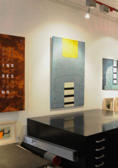 Vue de la Galerie - Qlocktwo Large