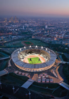 Le Stade - London 2012 Olympic Stadium Copyright - Populous