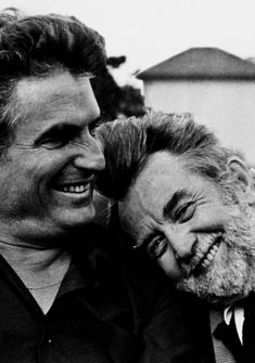 Marcel Imsand et Léonard Gianadda
