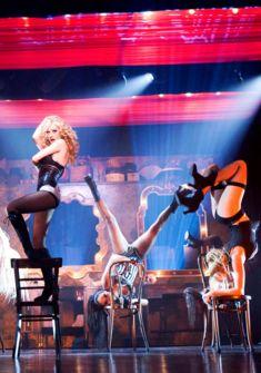 Scène burlesque