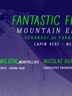 Affiche Fantastic Frienda Mountain Edition lelapinvert