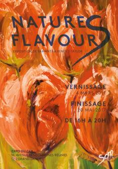 Flyer de l'exposition Emilie Karsegard