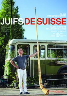 "Affiche de l'expo ""Juifs de Suisse"" Aexander Jaquemet"