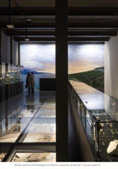 Salle d'histoire du MCAH Yves André MCAH