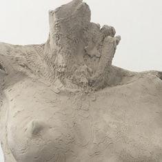 Travail d'élève réalisé à l'atelier IZA - Isabelle Ardevol - Sculpteur