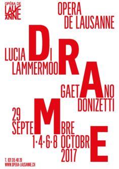 affiche production_Lucia di Lammermoor Opéra de Lausanne