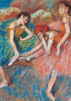 Danseuses au repos - Edgar Degas