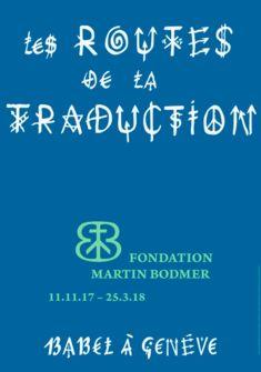 Affiche de l'exposition Fondation Martin Bodmer