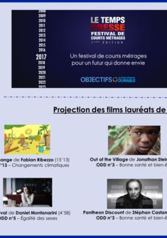 films nominés - festival LETEMPSPRESSE