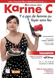 One-woman-show de Karine C Lausanne stemutz.ch