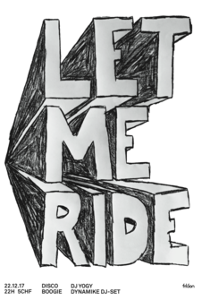 Let Me Ride Julien Chavaillaz