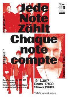 Jede Note Zählt / Chaque Note Compte Julien Chavaillaz