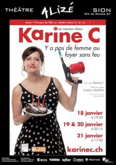 Karine C. - Y'a pas de femme au foyer sans feu Karine C. Arts