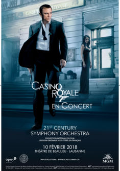 Ciné-concert CASINO ROYALE - JAMES BOND