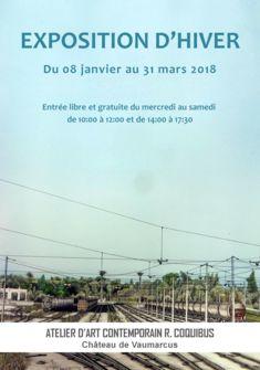 Affiche Exposition d'Hiver Romain Coquibus