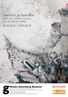 Affiche de l'exposition Musée Gutenberg