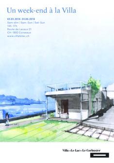 """Villa """"Le Lac"""" Le Corbusier © Jorge Sihuay Maravi, Pérou, 2016"""