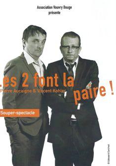 Pierre Aucaigne et Vincent Kohler