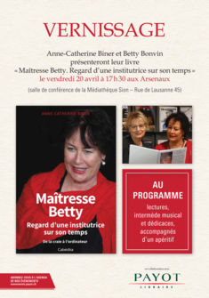 Biner Anne-Catherine et Betty Bonvin Biner Anne-Catherine