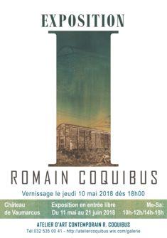 Affiche-Romain Coquibus-Exposition I Romain Coquibus