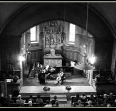 Concert dans la chapelle des Haudères