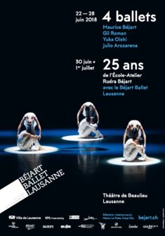 BBL 4 ballets - 25 ans Ecole-Atelier Rudra Béjart avalanchedesign.ch - photo: Ilia Chkolnik
