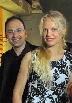 Lina Uinskyte et Marco Ruggeri