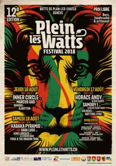 Plein-les-Watts Festival 2018 Atelier Graphique