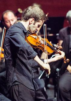 Mikhail Ovrutsky, violoniste du Beethoven Trio Bonn Giona Mottura