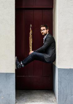 Emile Parisien, saxophoniste Sylvain Gripoix