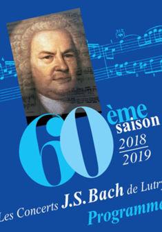 60me saison concerts Bach