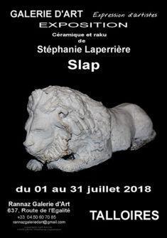 affiche de l'exposition SARL ART-FR crédit photos S. LAPERRIERE