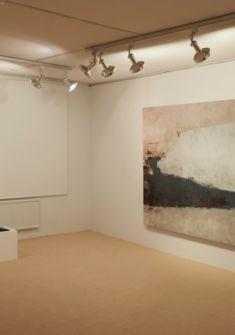 peintures Geneviève Asse, Giulio Camagni, sculptures Osamu Nakajima Ditesheim&Maffei Fine Art