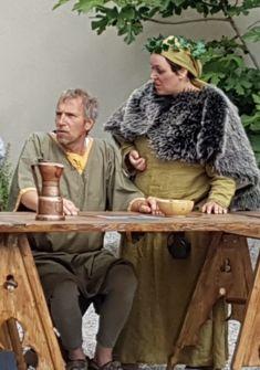 Farce théâtrale comique médiévale : In Taberna. La Bayardine, FêtesMédiévales de Saillon