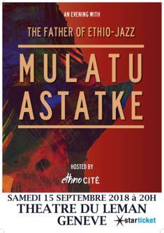 affiche concert Mulatu Astatke