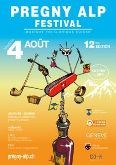 Affiche PAF 2018 PREGNY ALP FESTIVAL 2018