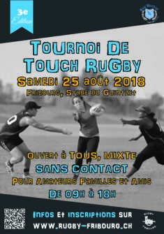 Flyers Tournoi de Touch Rugby BrodMax