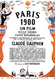 Affiche du film Paris 1900 (1947)
