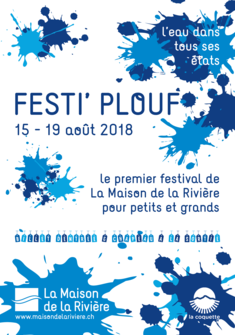 Affiche Fest' Plouf La Maison de la Rivière