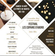 Affiche Festival Les Copains d'abord