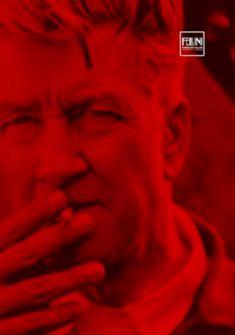 David Lynch in red Stéphanie Cornfield