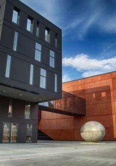 téâtre de Pilsen, siège de l'Orchestre philharmonique de Pilsen Haendler