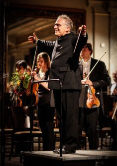 R. Zollmann avec l'OPh de Pilsen